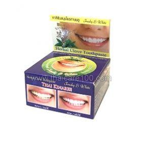 Отбеливающая зубная паста на основе натурального масла гвоздики Сияние и Белизна