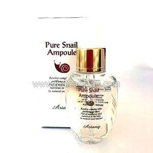 Высококонцентрированная сыворотка Pure Snail Ampoule Ariany с улиточным муцином (500ppm)