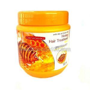 Медовая маска от выпадения волос Carebeau Honey Hair Treatment