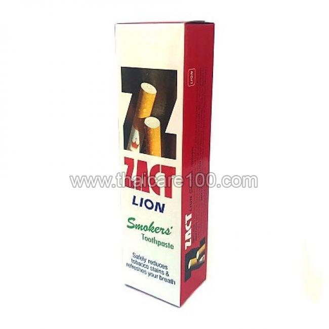 Зубная паста для курильщиков Zact Lion Smokers Toothpaste