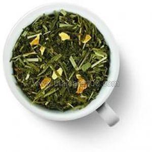 Зеленый чай с бананом