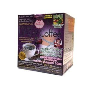 Кофе  для похудения с черносливом Sliming Diet Detox Lipo 9