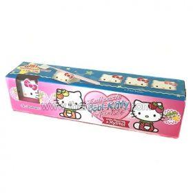 Детская зубная паста St.Andrews Hello kitty English sensation в комплекте с магнитиком-котенком Китти