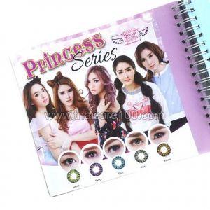 Корейские цветные линзы, увеличивающие глаза. Модель Princess