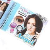 Корейские цветные линзы, увеличивающие глаза. Модель Angel
