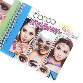 Корейские цветные линзы, увеличивающие глаза. Модель Berry