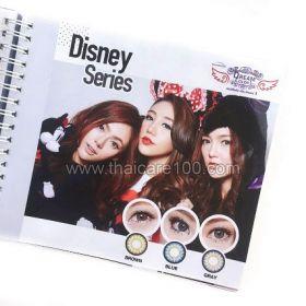 Корейские цветные линзы, увеличивающие глаза. Модель Disney
