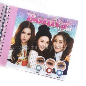 Корейские цветные линзы, увеличивающие глаза. Модель Bonita