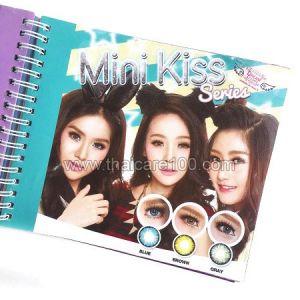 Корейские цветные линзы, увеличивающие глаза. Модель Kiss