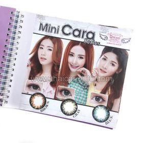 Корейские цветные линзы, увеличивающие глаза. Модель Cara