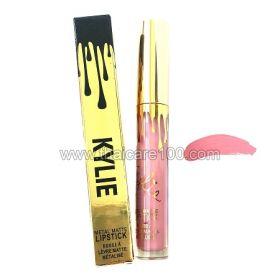 Жидкая помада Кайли Дженнер Kylie Jenner Matte Liquid Metal Lipstick тон Milk Shake
