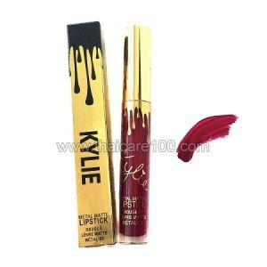 Жидкая помада Кайли Дженнер Kylie Jenner Matte Liquid Metal Lipstick тон Black Cherry