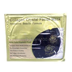 Коллагеновая маска для лица Collagen Crystal Facial Mask с маслом виноградной косточки и бамбуковым углем