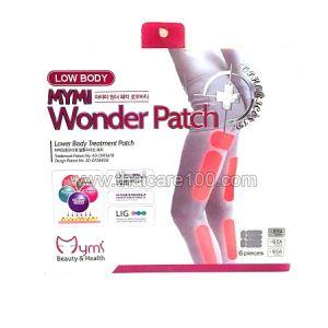 Пластырь для похудения Mymi Wonder Patch Low Body для внутренней и внешней стороны бедер и икр ног