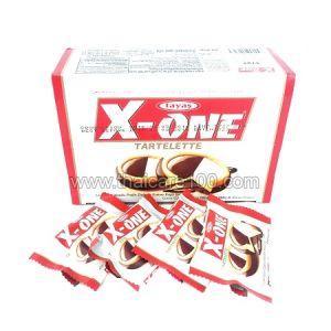 Тарталетки с молочным и кокосовым пралине с шоколадом X-One