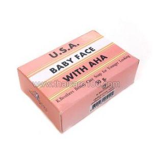Подтягивающее мыло Super Baby Face с лифтинг-эффектом для омоложения кожи лица