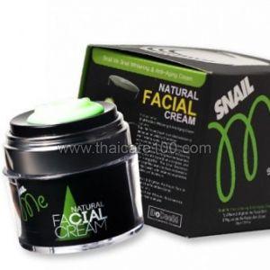 Улиточный крем с фильтратом черной улитки Snail me Natural Facial Cream