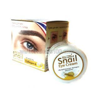 Крем для глаз с улиточным муцином Thai Herb Snail Eye Cream