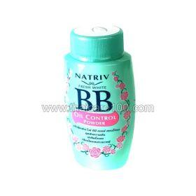 Матирующая пудра для жирной кожи BB Powder Natriv