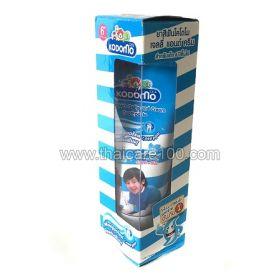 Двойная крем-гель паста для первых зубов KODOMO Gelly and Cream