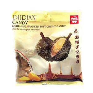 Тайские мягкие ириски со вкусом короля фруктов Дуриана Mitmai