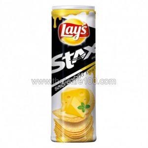 "Чипсы Лэйс ""Экстра сыр"" Crispy Potato Lays Stack'S Extra Cheese (100 гр)"