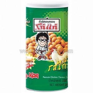 Арахис в глазури с куриным вкусом Koh Kae Plus Peanuts Chicken (230 гр)