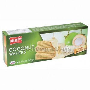 Кокосовые вафли Bissin Coconut Wafers