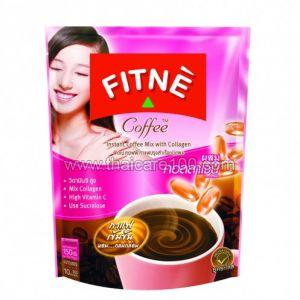 Финтес-кофе с коллагеном и витамином С Fitne Instant Coffee Mix with Collagen