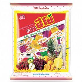 Ассорти желе с фруктовым соком PIPO Carageenan Jelly Assorted Fruit Juice