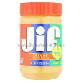 Арахисовая паста Jif Creamy Peanut Butter (454 гр)