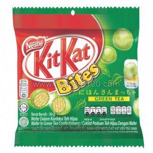 Вафельные наггетсы с зеленым чаем Kit Kat Bite Wafer in Green Tea
