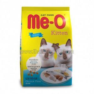 Сухой корм для котят с океанской рыбой Meo Kitten Sea Fish Flavor (1500 гр)