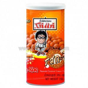 Арахис в глазури с молочным вкусом Kho-Kae Roasted Coconut Milk Peanut (255 гр)