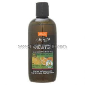 Шампунь для жирных волос и кожи головы Lolane Nature Code с цитрусом