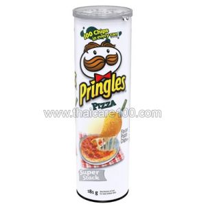 Чипсы Принглз со вкусом пиццы Pringles Potato Chip Pizza Flavour (110 гр)