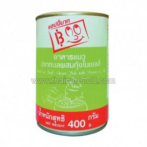 """Корм для кошек """"Океанская рыба и креветка в желе"""" Happy Baht Canned Cat"""
