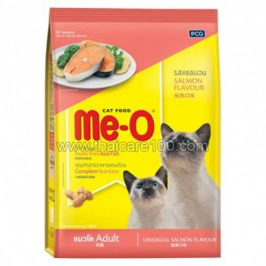 Сухой корм с Лососем для взрослых кошек от 1 года ME-O Cat Food Salmon (1100 гр)