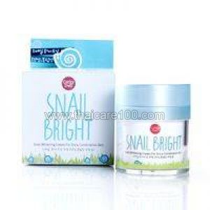 Улиточный крем для сухой кожи Snail Whitening Cream Cathy Doll