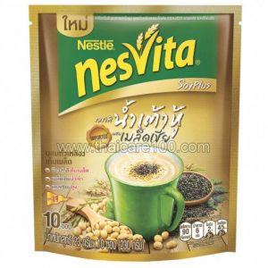 Напиток из злаковых с соевыми бобами и семенами Чиа Nesvita
