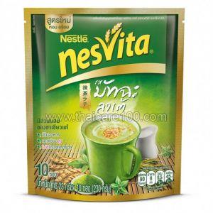 Напиток из цельнозерновых с зеленым чаем Латте Матча Nesvita Actifibras Instant