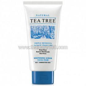 Пенка-скраб с маслом чайного дерева Tea Tree Scrub Foam