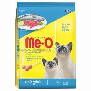 Сухой корм для взрослых кошек с тунцом Me-O Cat Food (1300 гр)