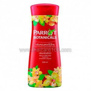 Гель для душа с ароматом дикой орхидея Parrot Shower Cream Wild Orchid (200 мл)