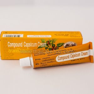Обезболивающий лечебный крем Compound Capsicum Cream от Abhai Herb
