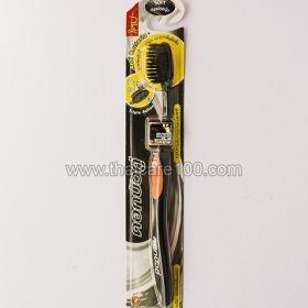 Антибактериальная зубная щетка Чистый Уголь и Бамбук Twin Lotus Bamboo Charcoal Toothbrush