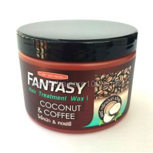 Восстанавливающая маска с кофе и кокосом Carebeau Fantasy Hair