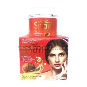 Улиточный омолаживающий крем Royal Thai Herb Snail Cream
