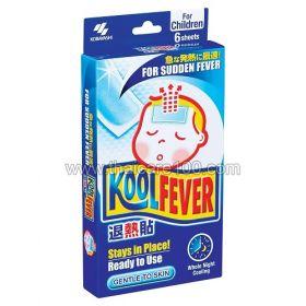 Детский жаропонижающий пластырь с охлаждающим эффектом