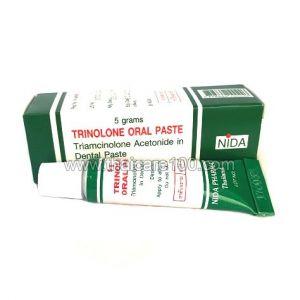Мазь от стоматита и болезней рта Nida Trinolone Oral Paste